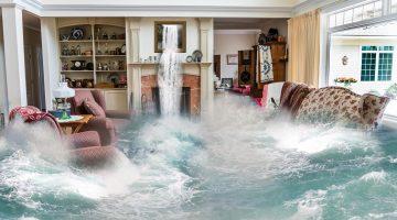 הצפה בבית או בעסק - מי אחראי על הנזקים?
